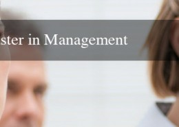 MBA Master in Management