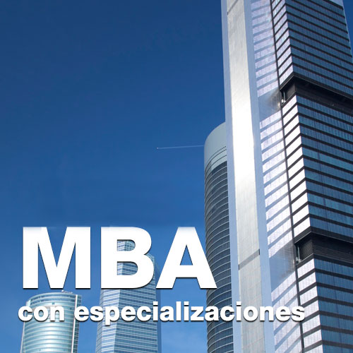 MBA con especializaciones