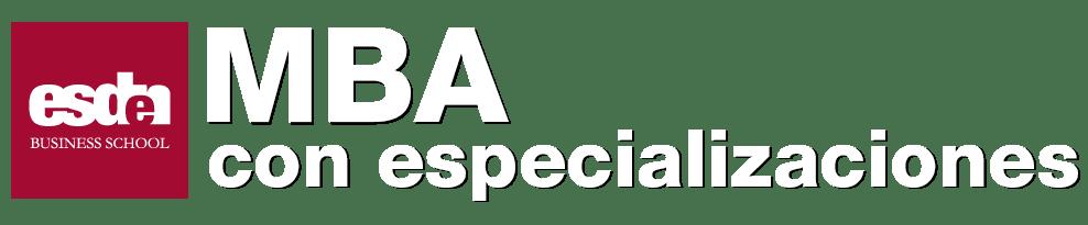 ESDEN- MBA con especializaciones
