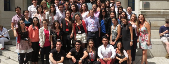 Alumnos en la LSE de Londres
