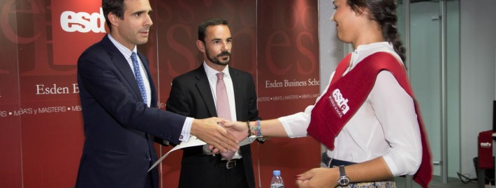 Graduación Esden Business School