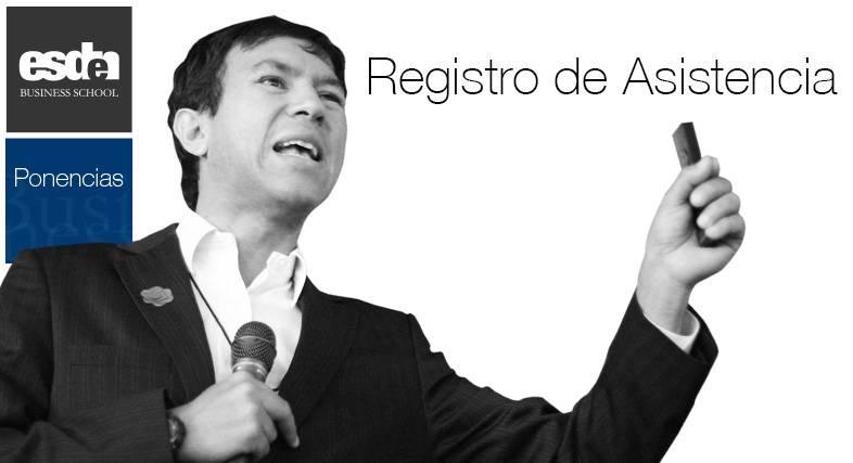 REGISTRO DEE ASISTENCIA PONENCIA