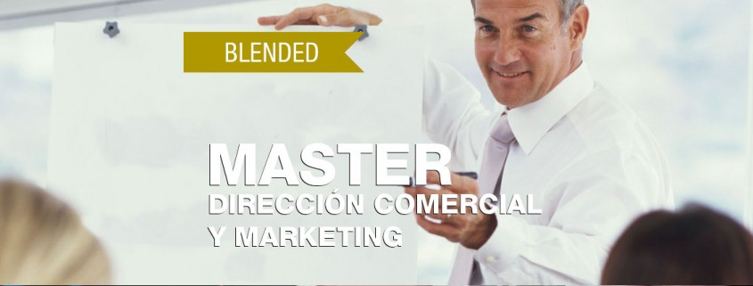 MASTER EN DIRECCIÓN COMERCIAL Y MARKETING