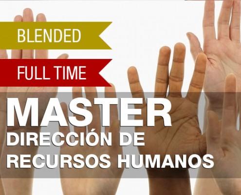 MASTER EN DIRECCION DE RECURSOS HUMANOS
