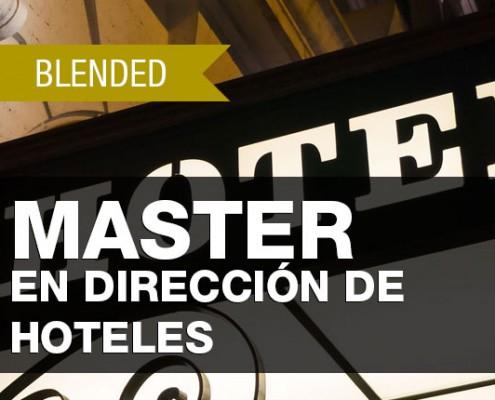 MASTER EN DIRECCIÓN DE HOTELES