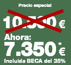 7.350 euros incluida BECA
