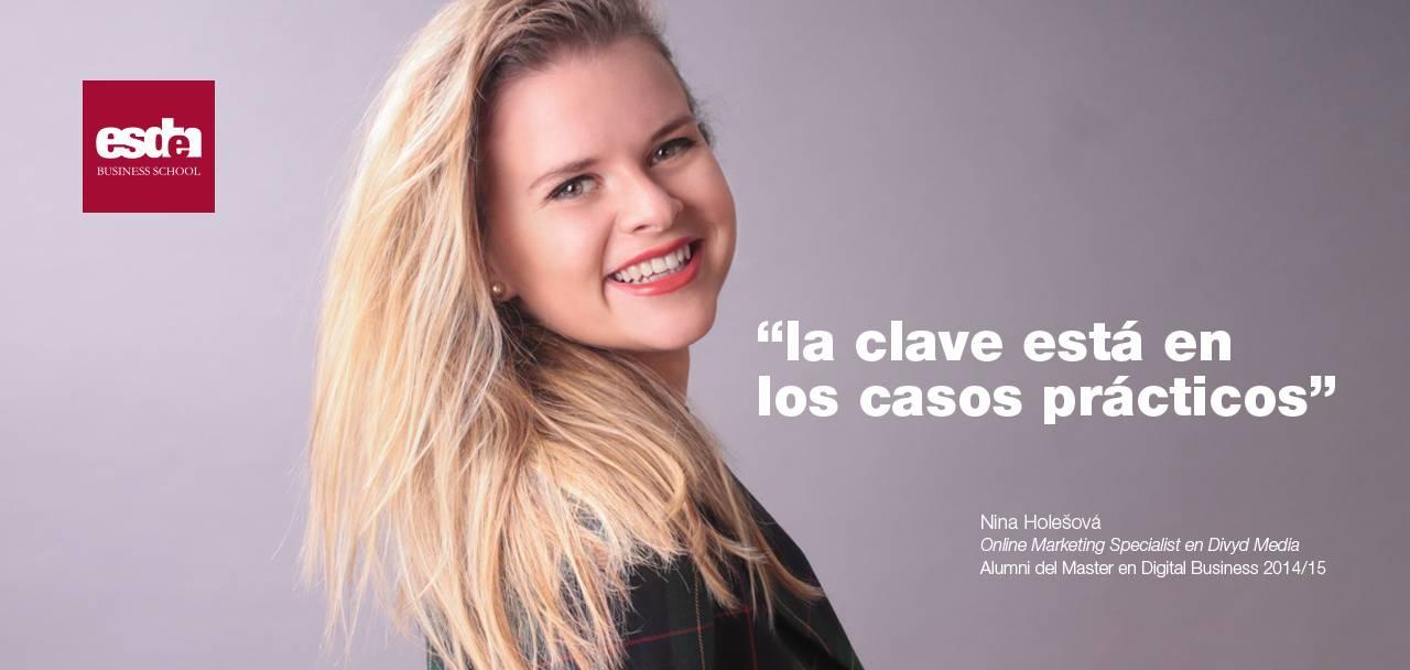 Nina Holešová. Online Marketing Specialist en Divyd Media