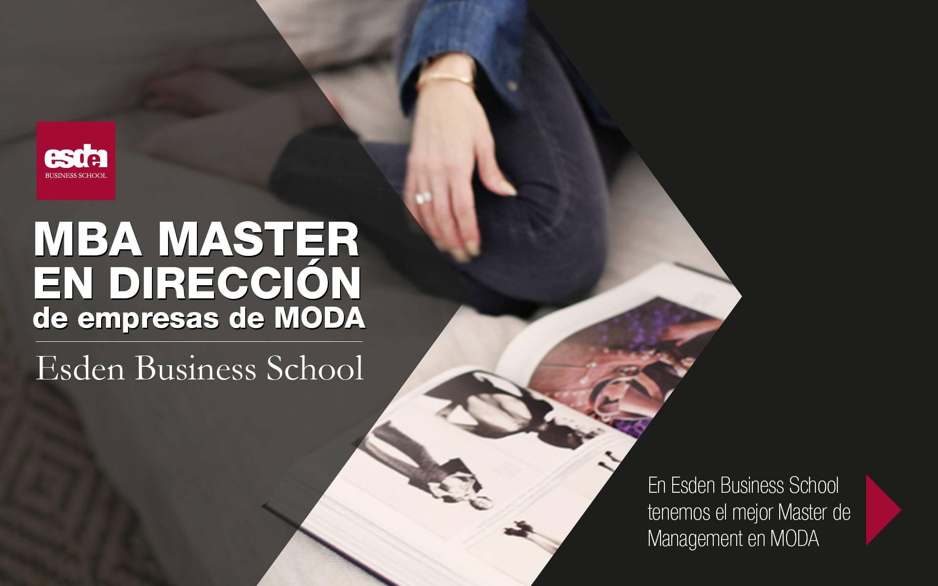 20abf421acf MBA Master en Dirección de Empresas de Moda - Esden Business School