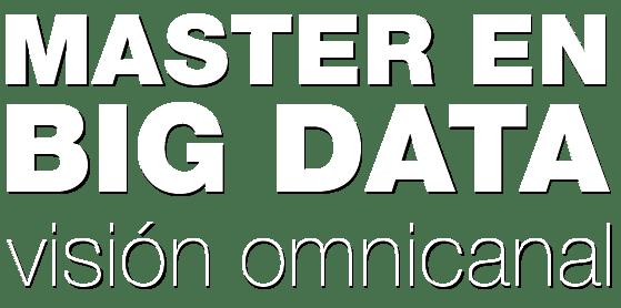 MASTER EN BIG DATA