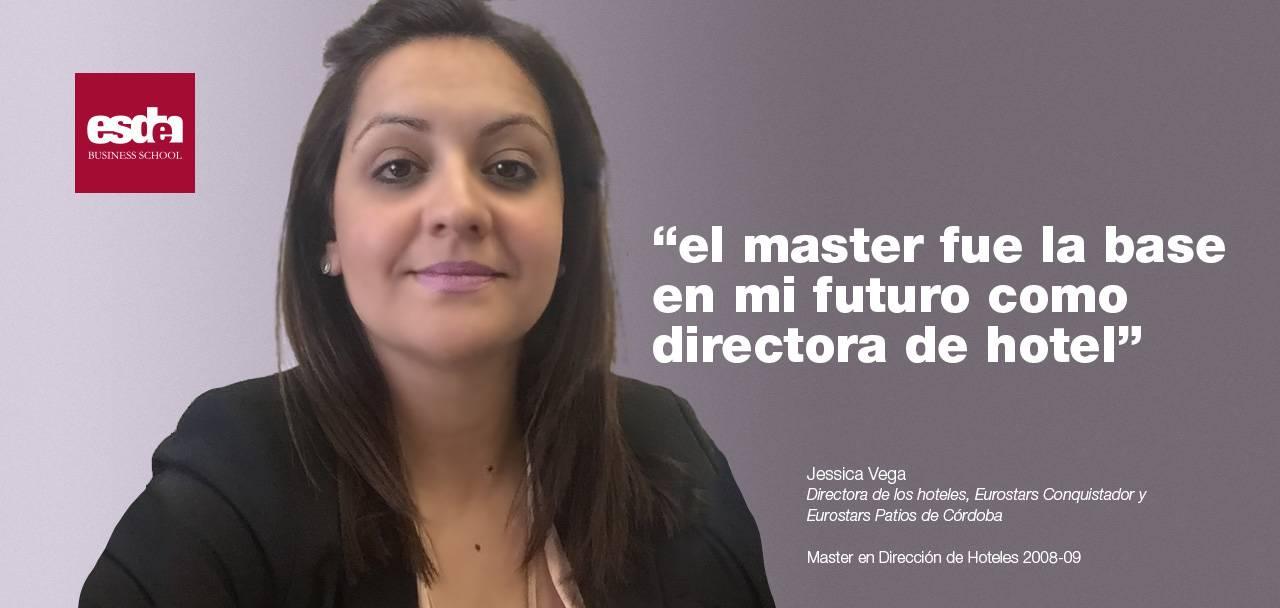 Jessica Vega - Master Esden Hoteles